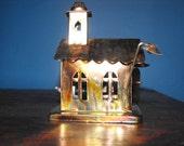 Vintage Berkeley Copper Church Music Box