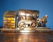 Berkeley Designs Covered Wagon Copper/Tin Music Box