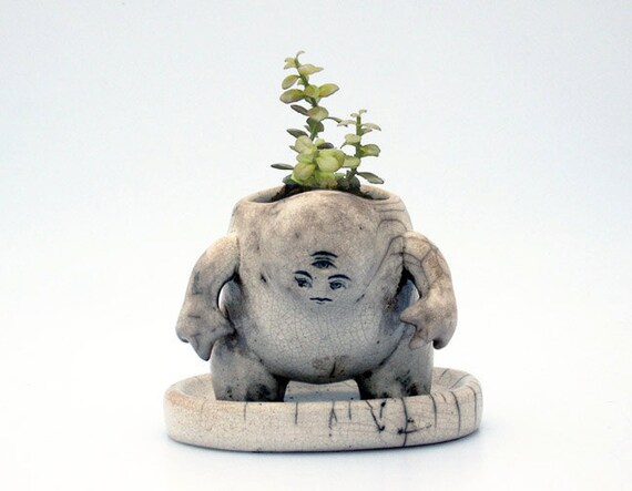 Triclops Creature Pot (Planter)