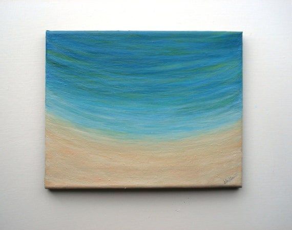 Seas The Day beach painting