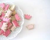 OH SO SMALL Princess Crown Sugar cookies - 6 dozen