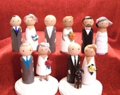 Wedding Cake Toppers-Uniquely Customized with 3D Elements