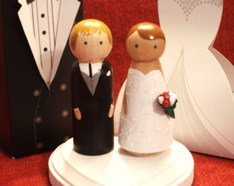 Wedding Cake Toppers Fully Customizable--Special Order Collections