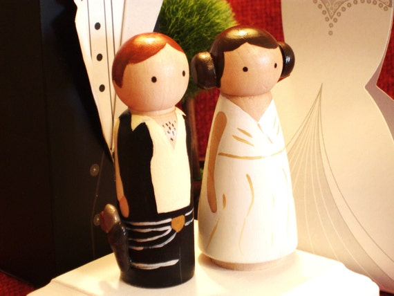 Star Wars  Ships In 2 Weeks Wedding Cake Toppers -3-D Accents