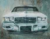Old School Chevy - original painting 20 X 16