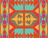 Tribal Native American Southwestern Art Print 8.5 x 11