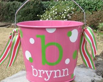 Personalized Bucket - 5 quart - Monogram Bucket