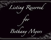Reserved for Bethany Myers  Little Lamb Painted Canvas