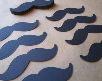 50 PAPER Mustache Cut Outs