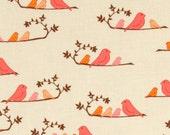 Bird Printed Fitted Crib Sheet or Toddler Sheet - 100% Designer Cotton - Valori Wells Wrenly