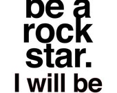Rock 'n' Roll Poster - Legend