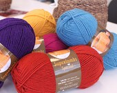 Wool yarn for winter and autumn, 100grams