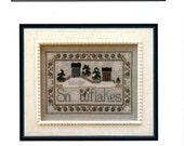 Little House Needleworks: Snowflakes - Cross Stitch Pattern