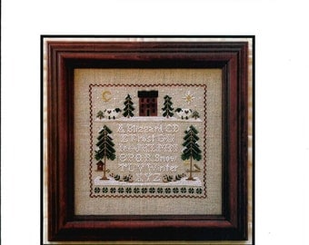 Little House Needleworks: Winter Whites - Cross Stitch Pattern