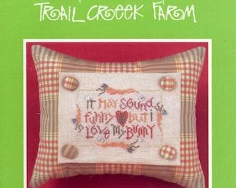 Trail Creek Farm: Funny Bunny - a Little Susie Cross Stitch Pattern