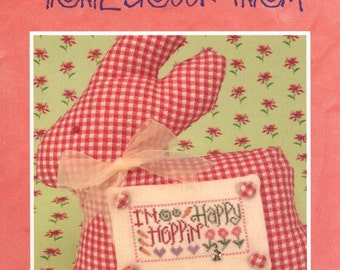 Trail Creek Farm: Hoppin Happy - a Cute em Collection Cross Stitch Pattern