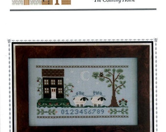 Little House Needleworks: The Counting House - Cross Stitch Pattern