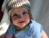 Blue Cami 6-9 Month Beanie