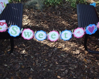 Custom Birthday Party Banner ANY THEME from my shop
