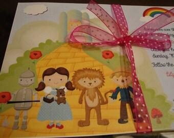 Custom Wizard of Oz Birthday Invitation