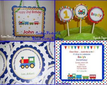 Choo Choo Train Basic Party Package