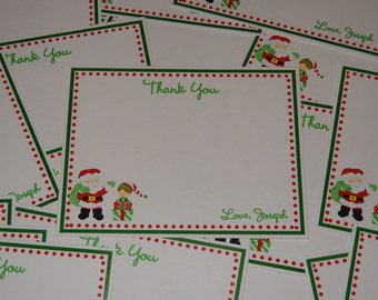 Christmas Party or Birthday Party Flat Thank You Cards
