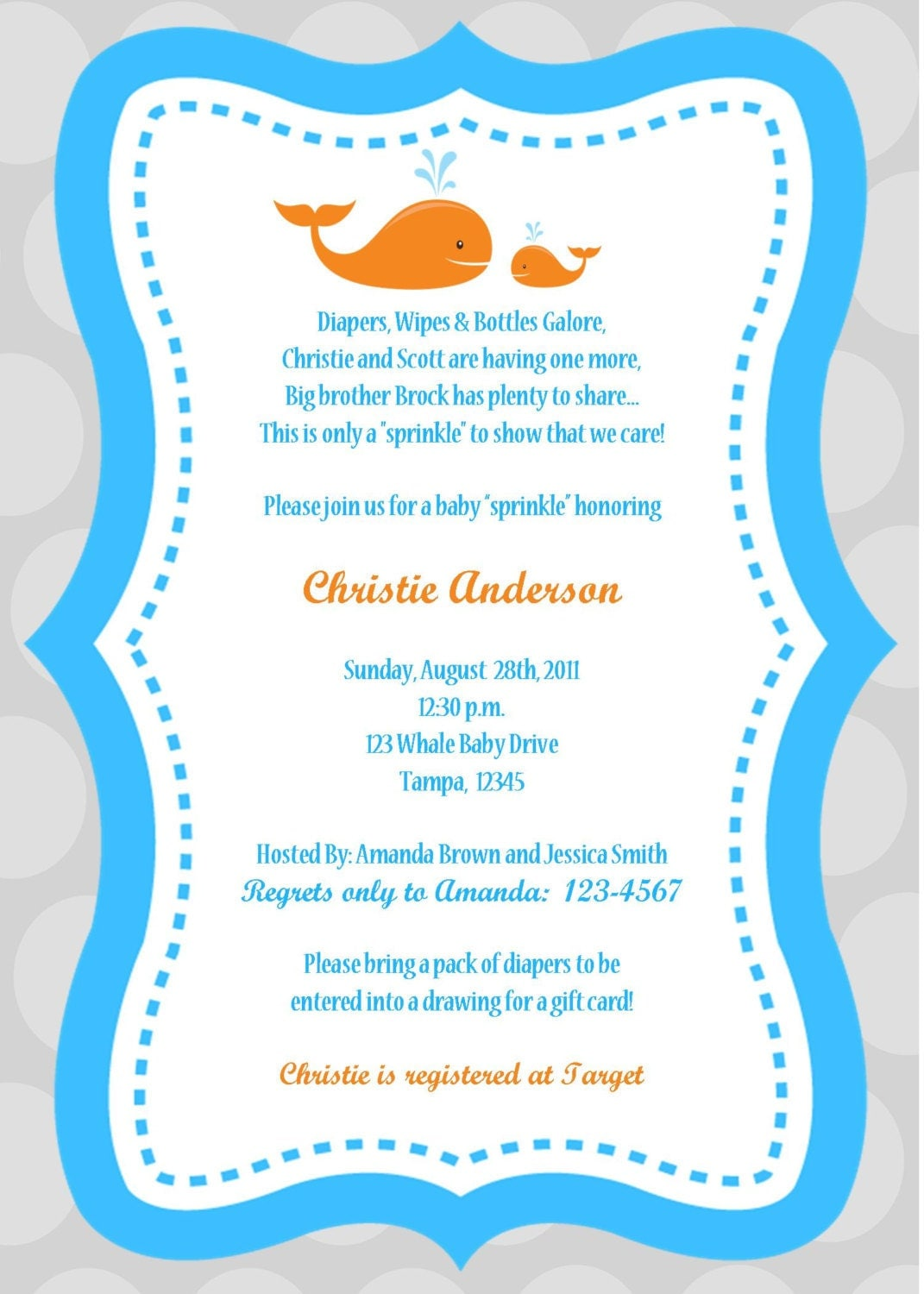 Baby Shower Invitations Etsy and get inspiration to create nice invitation ideas