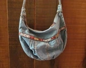 Vintage Eighties Jean Purse