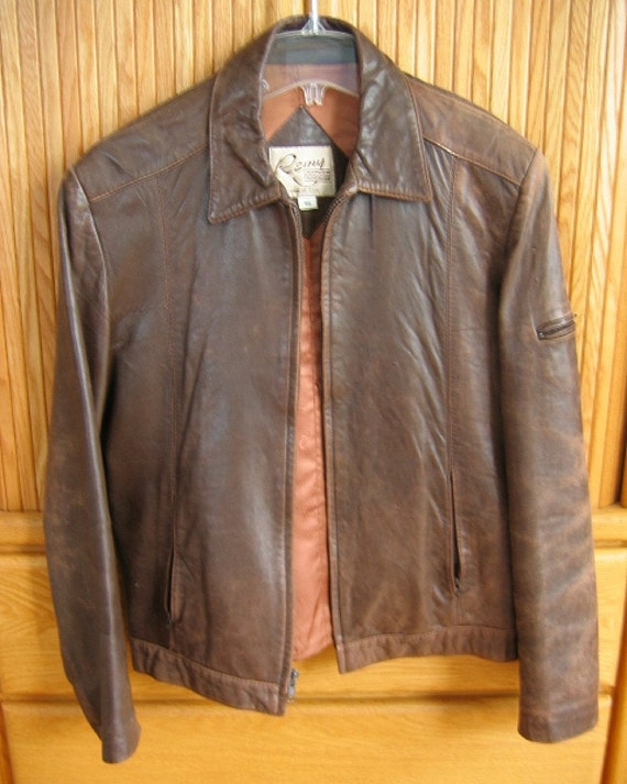 Remy leather jacket