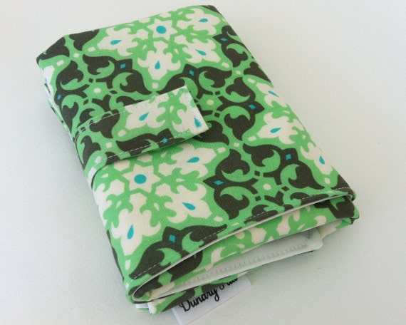 Clearance Waterproof Changing Pad - Green Mosaic