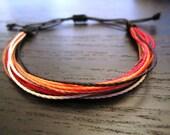 Handmade Macrame String Bracelets