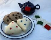 Elizabeth's Felt Food Tea Party Set
