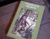 Illustrated, Treasure Island, R L Stevenson, Vintage Book
