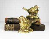 Vintage Brass Birds