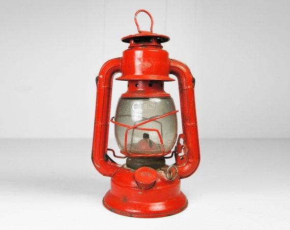 Vintage Red Dietz Railroad Lantern