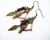 THE HUNTERS BOW: Earrings inspired by World of Warcraft