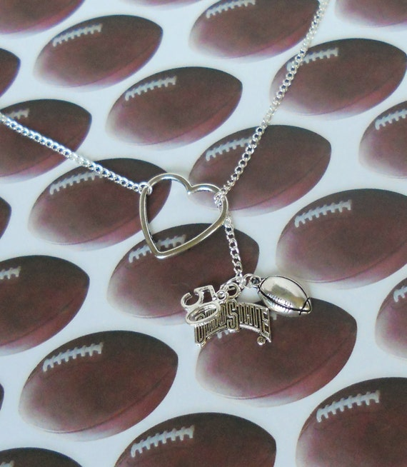 Ohio State Football Necklace - Create your own, handmade jewelry