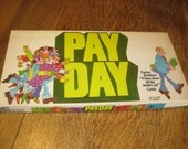 1976 Payday Board Game