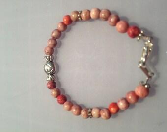 Baby Pink Candy Love Bracelet