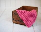 pink mini blanket