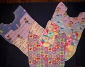 Baby Girl bibs for a week