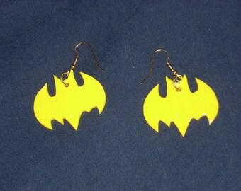 Batgirl Earrings
