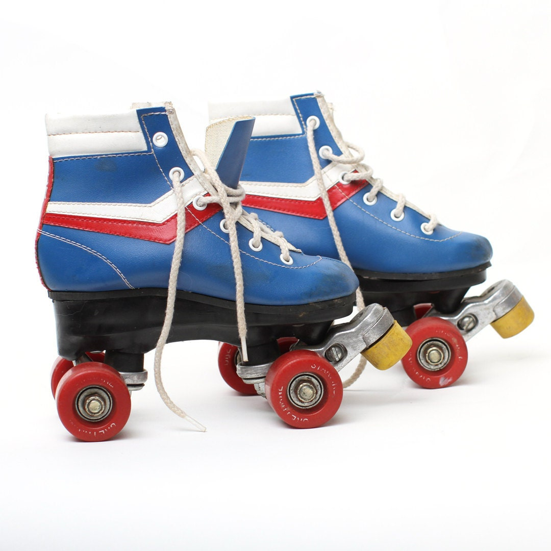 vintage chicago child 39 s roller skates retro. Black Bedroom Furniture Sets. Home Design Ideas