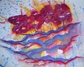 Woodland - Original Watercolor - 18x24 inches