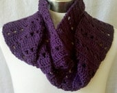 Super SUMMER SALE - Extra Long Grape Wine Scarf