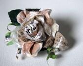 White Rose - Brooch