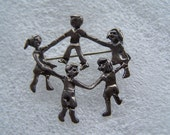 RESERVED Mexican Sterling Silver Pin 925