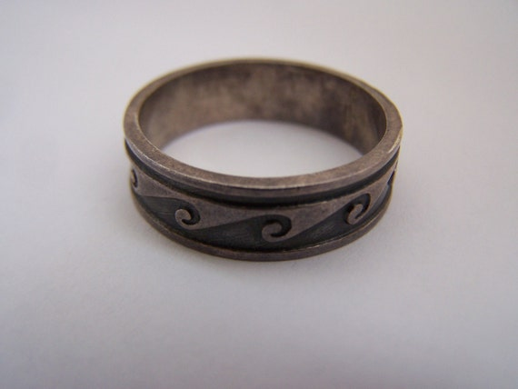 Mens 925 Mexico Ring Size 12