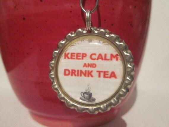 items similar to tea infuser bottle cap charm keep