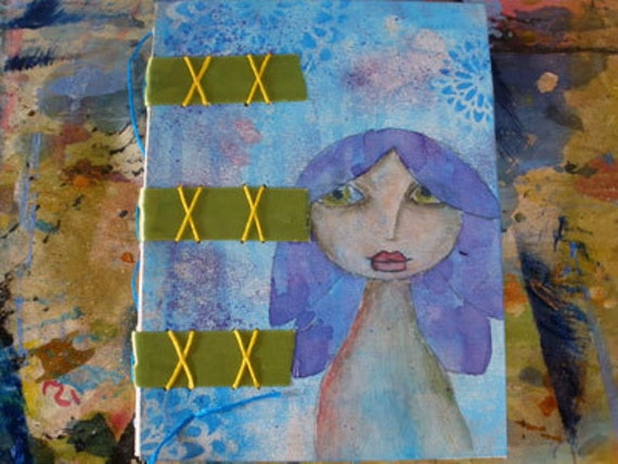 Power of Creation --- sewn-on-tape customizable Art Journal